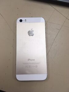 Gold iPhone 5s, (rogers) Strathcona County Edmonton Area image 4