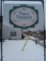 TINA'S TREASURES ANTIQUES & COLLECTIBLES MOUNT BRYDGES, ONTARIO