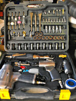 Mastercraft 71 piece air tool set - Bridgetown
