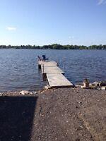 Dock space Ottawa River Cumberland