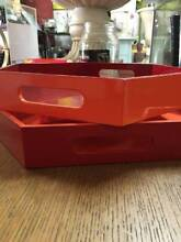 *LAST DAYS-UP TO 80% OFF Retro Vita Hexagon Serving Tray Set of 2 Brunswick West Moreland Area Preview