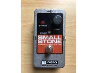 Electro harmonix Small Stone nano Phaser guitar effects pedal