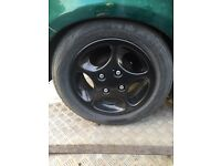 PEUGEOT 106 GTI ALLOY WHEELS