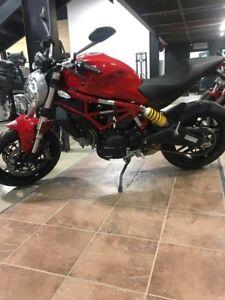 2017 Ducati Monster 797 Ducati Red