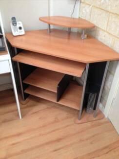 Corner Computer Desk Study Table Henley Brook Swan Area Preview