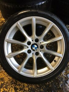 "BMW ORIGINAL 18"" WHEELS 3 SERIES 5 SERIES"