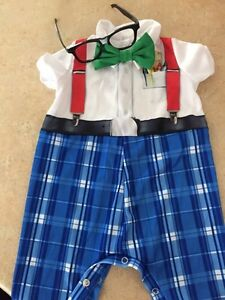 Nursery Nerd Halloween Costume 6-12 months  Kitchener / Waterloo Kitchener Area image 4