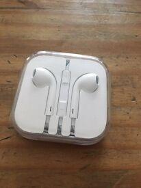 Genuine Apple EarPods/earphones - brand new, unused!