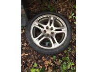 """Subaru Impreza 17"""" alloy wheels"""