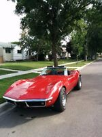 1969 stingray convertible corvette