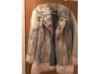 Faux Fur Coat UK12