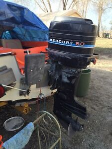 80 hp mercury with controls
