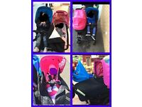 emmaljunga double viking pram
