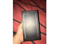 Brand new iPhone 7 jet black 128GB