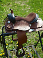 CUTE 12 IN  NEW WESTERN PONY SADDLE