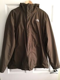 North Face Tri-Climate Jacket (Olive) size L