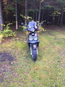 2002 Yamaha Zuma YW50 w/ 70cc bore kit.