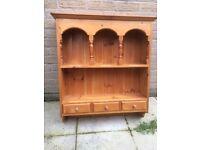 Pine dresser cupboard