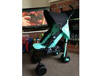 Chicco buggy only one month old payed £120 for it been used 3x