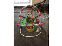 Baby jumperoo baby play