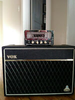 Vox Lil' Night Train with Celestion loaded 2x10 cab.