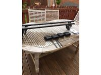 Mont Blanc Classic CFB1 Roof Bars and Instructions (Vauxhall cords)