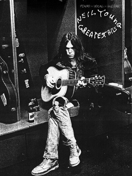 Neil Young Greatest Hits Sheet Music Piano Vocal Guitar SongBook NEW 000306887