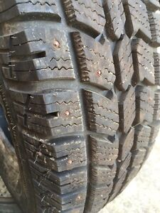"2 tire winter 225/75/17""studded"