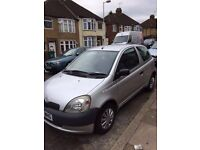 Toyota Yaris 1.0 2002 3dr excellent drive bargain! Not polo focus