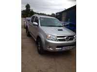 Truck wanted Hilux ranger warrior etc