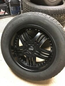4 pneus et mags neufs Bigg Wheels 20 pouces ford f-150