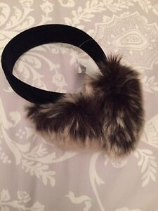 Faux fur earmuffs brand new with tag