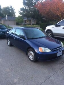 2002 Honda Civic 5 speed