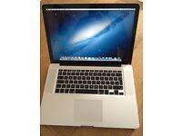 15 inch Apple MacBook Pro