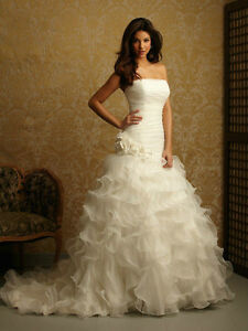 Allure Bridal Wedding Gown, size 2, $350 OBO, make me an offer.