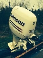 2002 Johnson 50hp four stroke for sale or trade