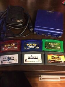 Gameboy SP and Games for Sale
