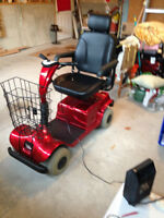 2006 Fortress 2000 Mobility Scooter - Hardly Used - Red
