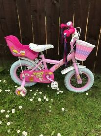 Girls cupcake bike from Halfords
