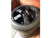 Fox alloy wheels Vauxhall vectra