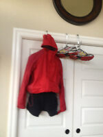L.L. Bean Hooded Vented Jacket large