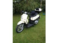 Moped , Benelli , very clean bike , hardly used , only 800 miles done .