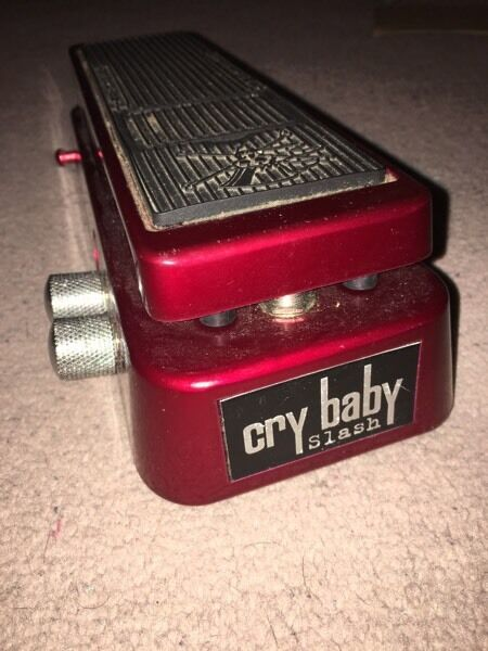 Jim Dunlop cry baby slash wah