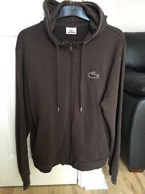Lacoste hoodie hooded top size 5 genuine