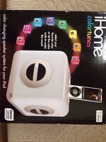 New iHome iPod Dock Colortunes 4th Generation
