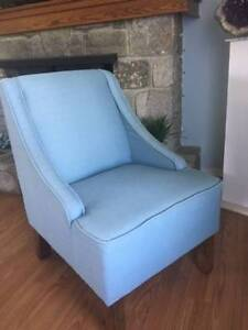 Blue Accent / Side Chair