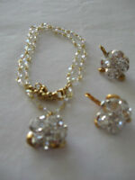Crystal Cluster Earrings - NEW