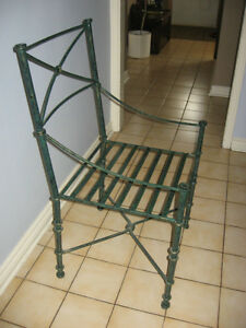 Pier One Glass Top Wrought Iron Dining Set Dining