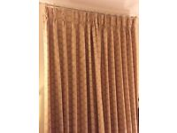 Beautiful full length, lined CURTAINS for sale Osborne & Little
