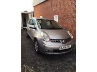NISSAN NOTE (58) 5DR FULL SERVICE HISTORY